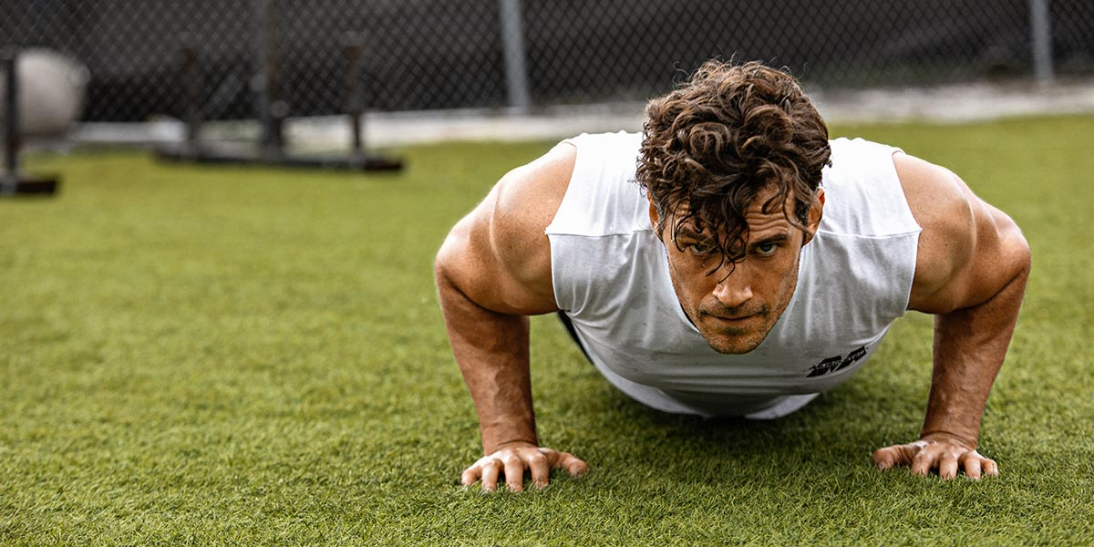 MuscleTech Chief Creative Director - Push up