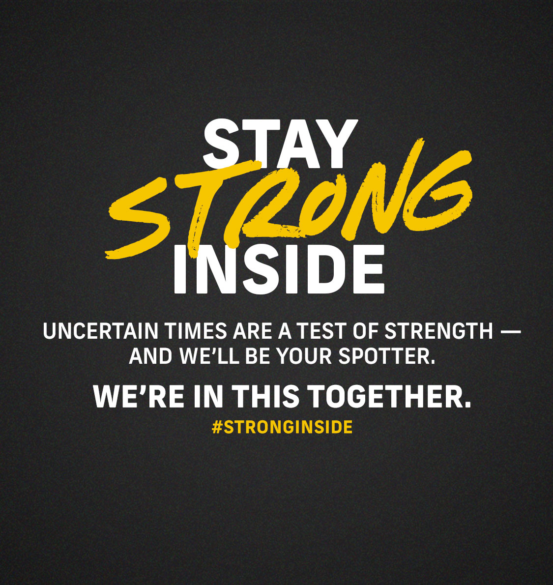 Stay strong inside